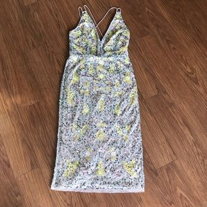 a96a6c7cdbf Gianni Bini Dresses - Gianni Bini Madi Sequin Floral Party Dress